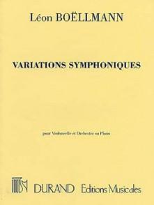 BOELLMANN L. VARIATIONS SYMPHONIQUES VIOLONCELLE