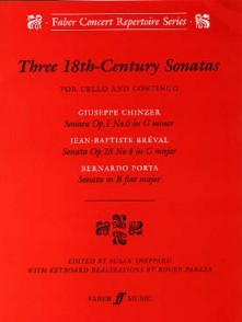 THREE 18TH CENTURY SONATAS VIOLONCELLE