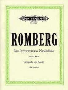 ROMBERG B.H. DIVERTIMENTI UBER NATIONALLIEDER VIOLONCELLE
