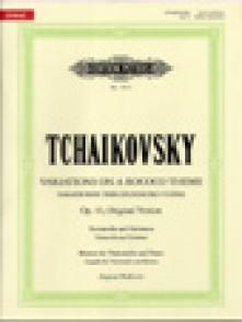 TCHAIKOVSKY P.I. VARIATIONS SUR UN THEME ROCOCO OP 33 VIOLONCELLE