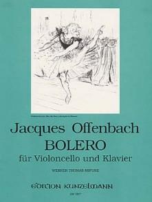 OFFENBACH J. BOLERO VIOLONCELLE