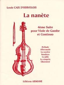 CAIX D'HERVELOIS L. LA NANETE VIOLONCELLE