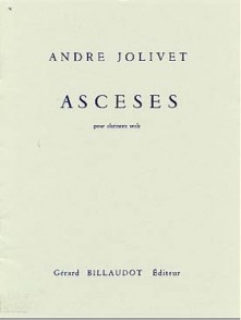 JOLIVET A. ASCESES CLARINETTE SIB SOLO
