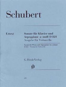 SCHUBERT F. SONATE ARPEGGIONE VIOLONCELLE