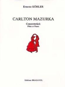 KOHLER E. CARLTON MAZURKA OP 85 FLUTE