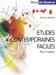 GERVAIS P. ETUDES CONTEMPORAINES FACILES HAUTBOIS SOLO