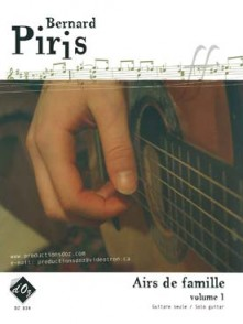 PIRIS B. AIRS DE FAMILLE VOL 1 GUITARE