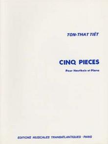 TON-THAT T. CINQ PIECES HAUTBOIS