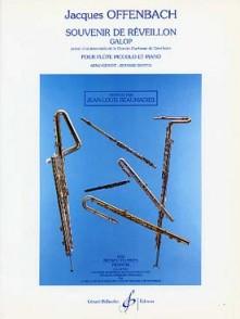 OFFENBACH J. SOUVENIR DE REVEILLON FLUTE PICCOLO