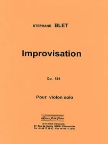 BLET S. IMPROVISATION VIOLON