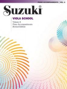 SUZUKI VIOLA SCHOOL PIANO ACCOMPAGNEMENT VOL A