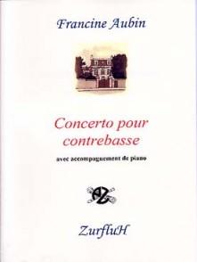 AUBIN F. CONCERTO CONTREBASSE