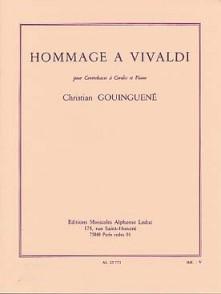 GOUINGUENE C. HOMMAGE A VIVALDI CONTREBASSE