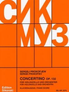 PROKOFIEV S. CONCERTINO OP 132 VIOLONCELLE
