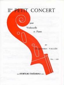 VALLEE G.R. 2ME PETIT CONCERT VIOLONCELLE