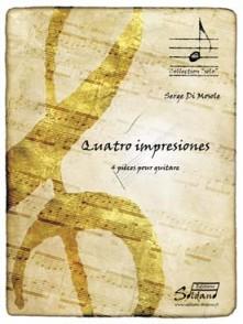 DI MOSOLE S. QUATRO IMPRESIONES GUITARE