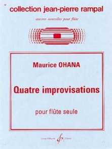 OHANA M. IMPROVISATIONS FLUTE SOLO