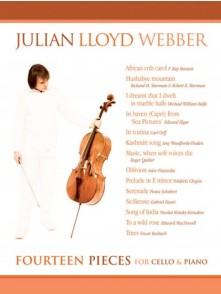 WEBBER J.L. FOURTEEN PIECES VIOLONCELLE