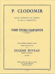 CLODOMIR P. ETUDES CHANTANTES TROMPETTE