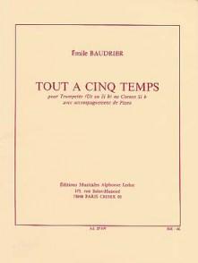 BAUDRIER E. TOUT A CINQ TEMPS TROMPETTE