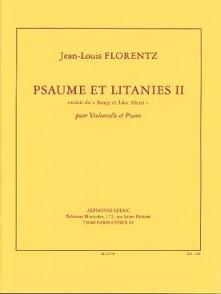 FLORENTZ J.L. PSAUME ET LITANIES II VIOLONCELLE