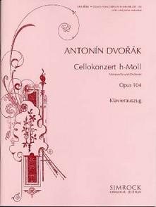 DVORAK A. CONCERTO B MINEUR OP 104 VIOLONCELLE