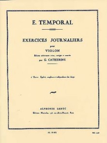 TEMPORAL E. EXERCICES JOURNALIERS VOL 2 VIOLON