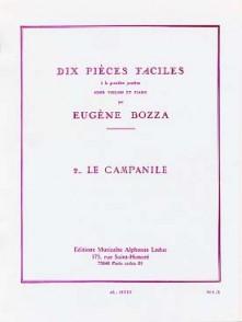 BOZZA E. LE CAMPANILE VIOLON