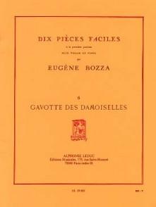 BOZZA E. GAVOTTE DES DAMOISELLES VIOLON