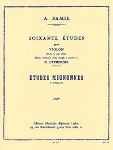 SAMIE A. 60 ETUDES VOL 1 VIOLON