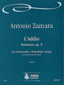 ZAMARA A. L'ADDIO ROMANZA VIOLONCELLE