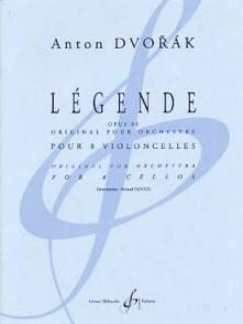 DVORAK A. LEGENDE OP 95 VIOLONCELLES