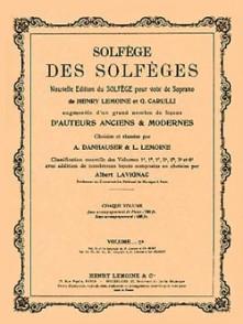 SOLFEGE DES SOLFEGES VOL 5B AVEC PIANO