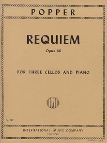 POPPER D. REQUIEM OP 66 3 VIOLONCELLES PIANO