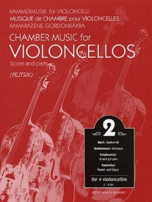 PEJTSIK A. CHAMBER MUSIC VOL 2 FOR 4 VIOLONCELLOS