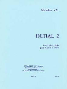 VAL M. INITIAL 2  VIOLON