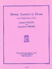 TOULON J./VERNIER J. HYMNE CADENCE ET DANSE TUBA