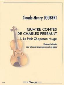 JOUBERT C.H. QUATRE CONTES DE CHARLES PERRAULT: LE PETIT CHAPERON ROUGE ALTO