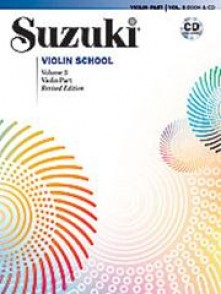 SUZUKI VIOLIN SCHOOL VOL 3+ CD