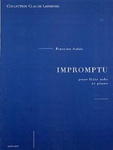 AUBIN F. IMPROMPTU FLUTE