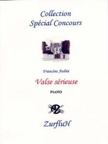 AUBIN F. VALSE SERIEUSE PIANO