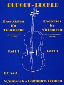 DUPORT J.L. 21 ETUDES  VOL 1 VIOLONCELLE