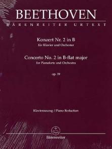 BEETHOVEN L.V. CONCERTO N°2 OP 19 PIANO