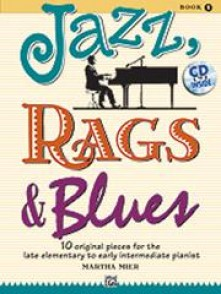 MIER M. JAZZ RAGS BLUES FOR PIANO BOOK 1