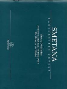 SMETANA B. LA MOLDAU PIANO 4 MAINS