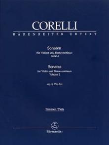 CORELLI A. 12 SONATAS OP 5 VOL 2 VIOLON