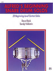 ALFRED'S BEGINNING SNARE DRUM SOLOS