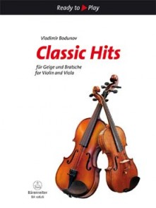 BODUNOV V. CLASSIC HITS VIOLIN AND VIOLA