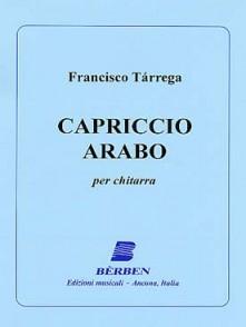 TARREGA F. CAPRICCIO ARABO GUITARE