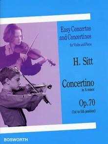 SITT H. CONCERTINO OP 70 VIOLON